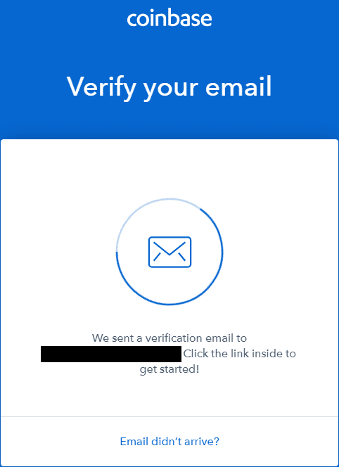 Coinbase Email Verification