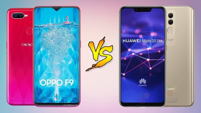 Huawei Mate 20 Lite vs Oppo F9