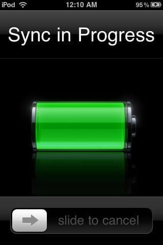 iOS sync