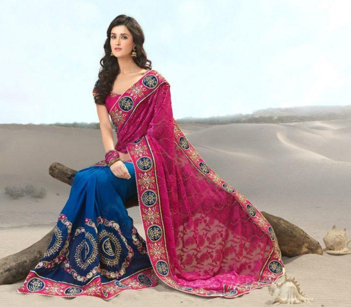 Beautiful Sari Girl