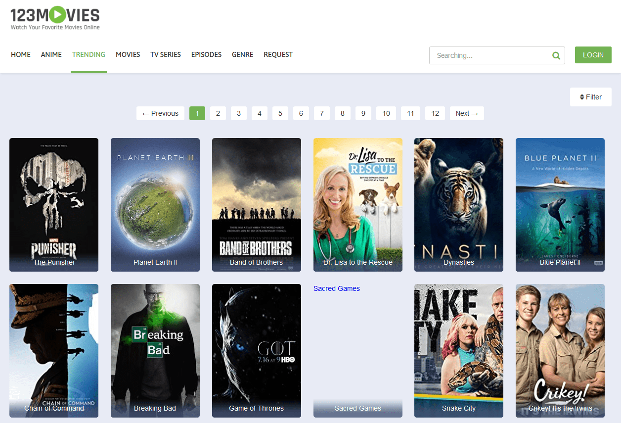 Trending Page Watch 123movies Free Online