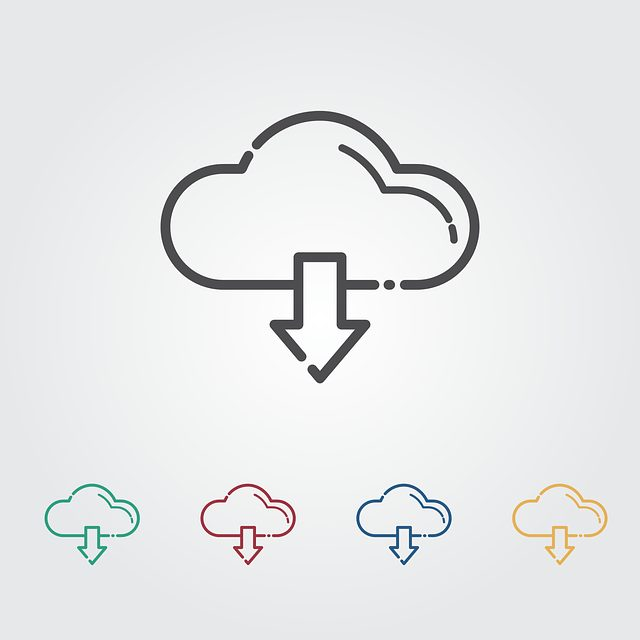 download, cloud, icon