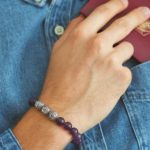 First time flying? Wear these semi-precious stone bracelets to feel comfortable!