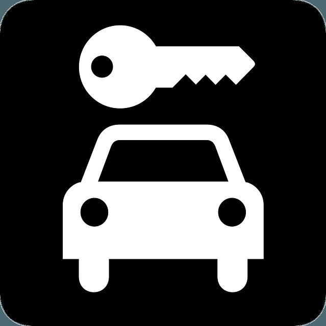car, ride, key