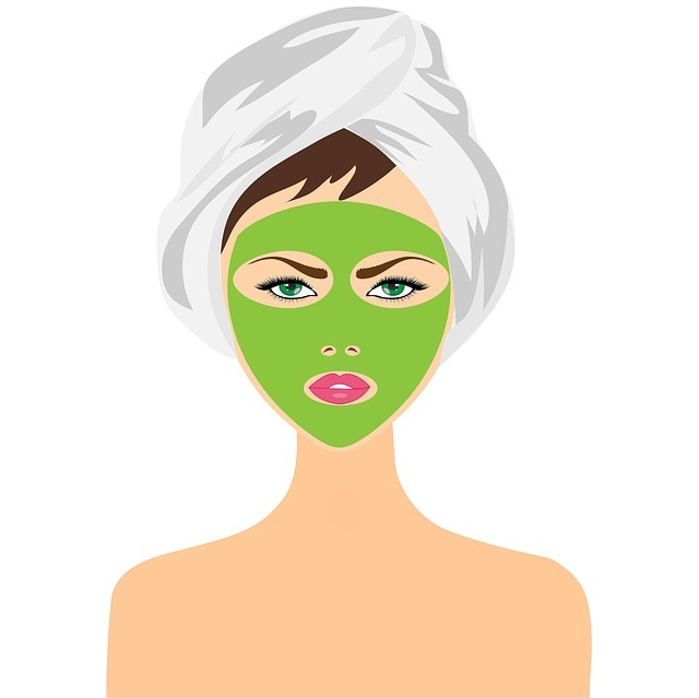 beauty treatment, face mask, girl