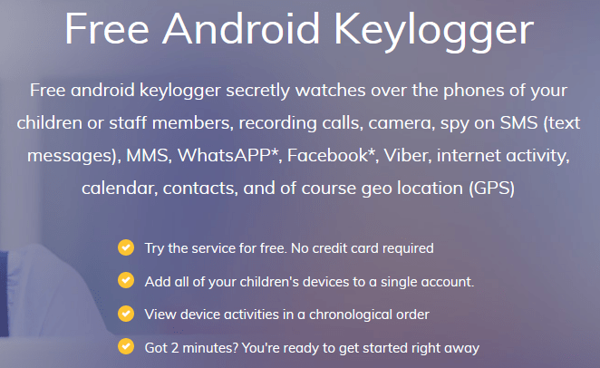 Free Android keylogger Download best Free spy app for android