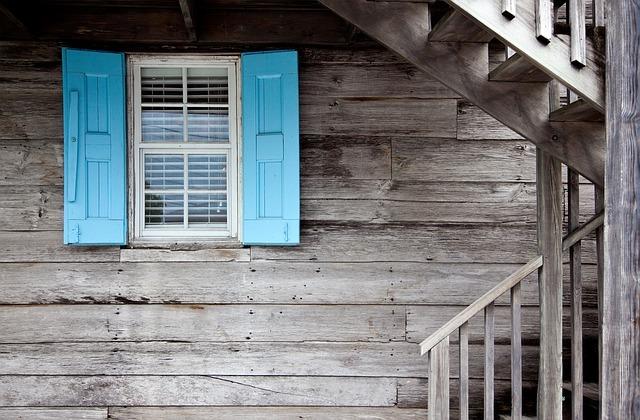 shutters, architecture, window