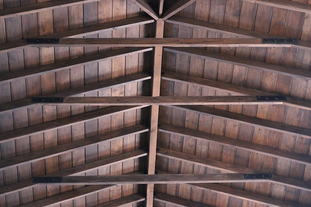roof, wooden roof, architecture