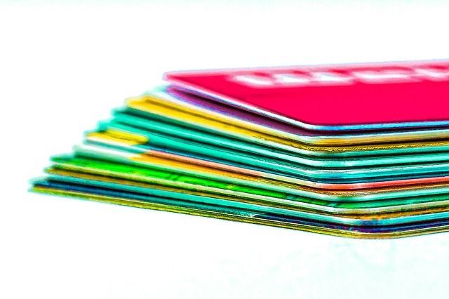 credit cards, check cards, ec cards