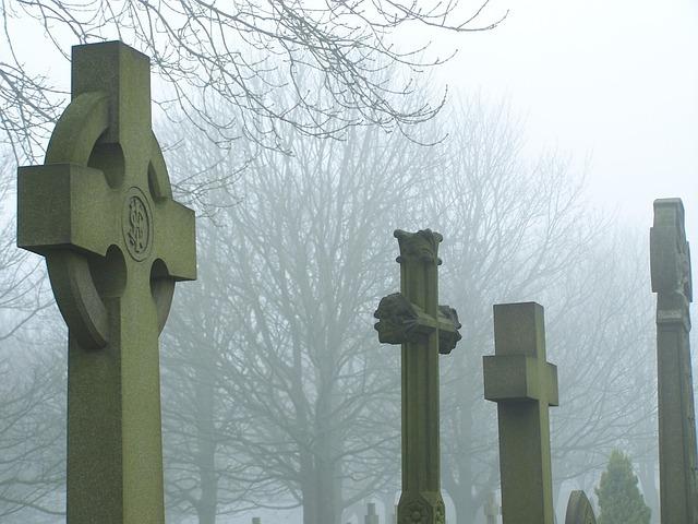 cemetery, grave, graveyard