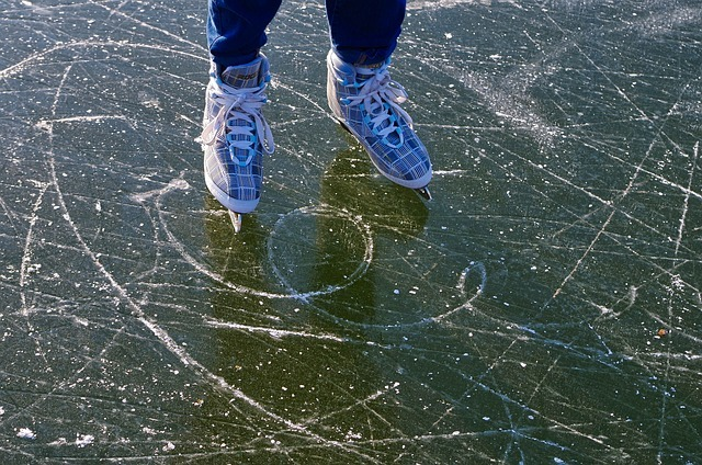 skating, skates, winter sports