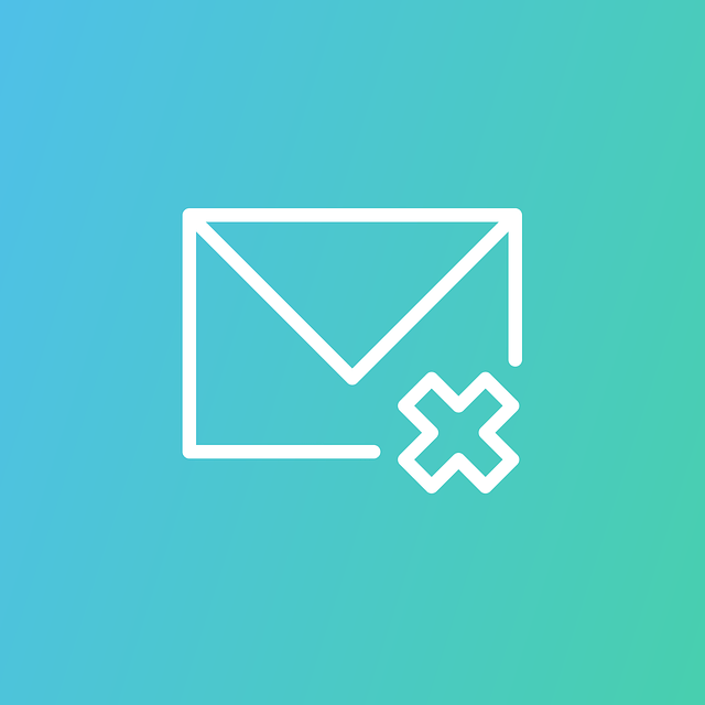 email, delete, icon