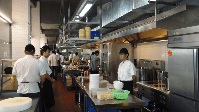 commercial kitchen equipment for induction cooking