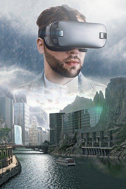 fantasy, virtual reality, vr