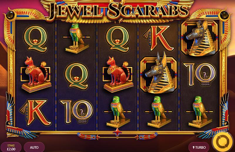 Jewel Scarabs slot