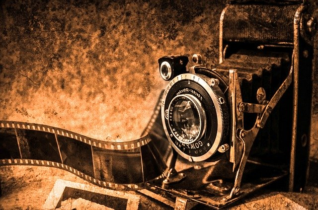 photo camera, photography, old