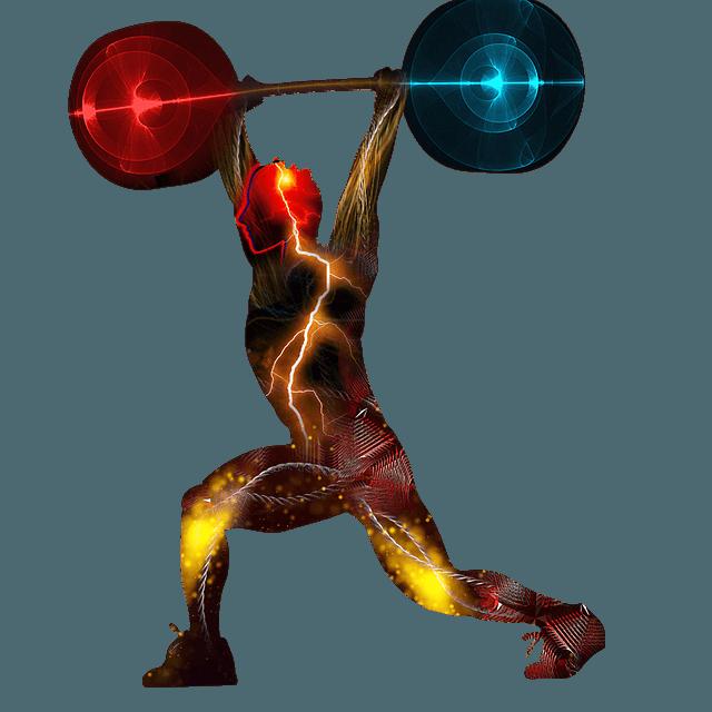 weightlifting, clean, jerk