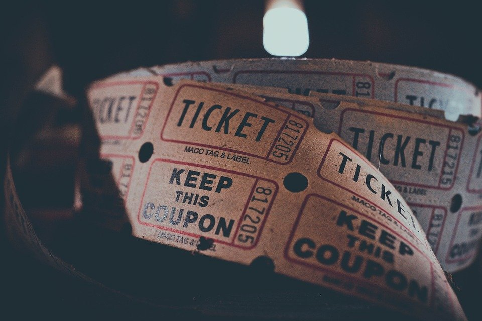 Admission, Coupon, Admit, Carnival, Circus, Concert