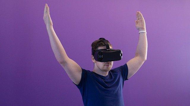 vr, virtual reality, man